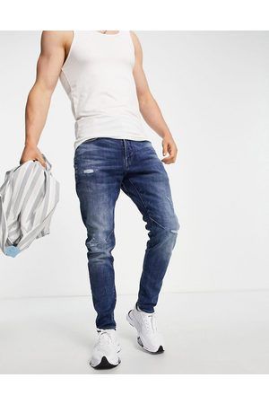 G-Star 3301 straight tapered fit jeans in light wash