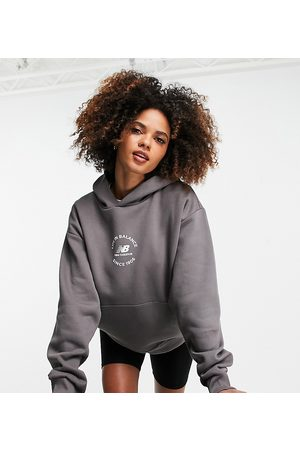 New Balance Life in balance hoodie in mauve