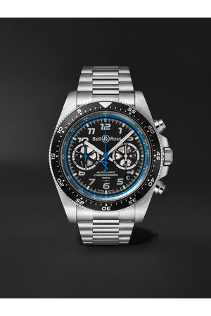 Bell & Ross BR V3-94 A.5.21 Limited Edition Automatic Chronograph 43mm Stainless Steel Watch, Ref. No. BRV394-A521/SST