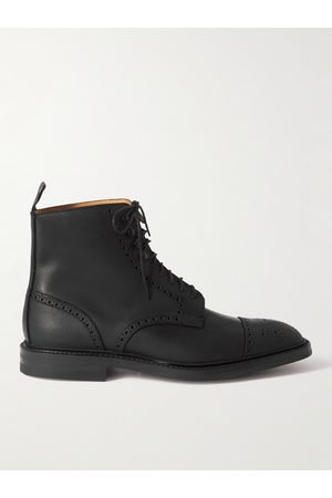 GEORGE CLEVERLEY Toby Suede Brogue Boots