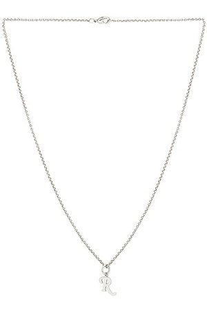 RAF SIMONS Simple R Necklace in