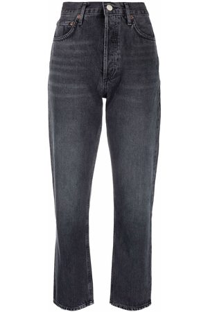 AGOLDE Women Tapered - Tapered-leg cropped jeans