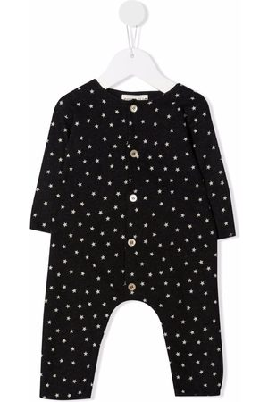 Babe And Tess Star-print romper