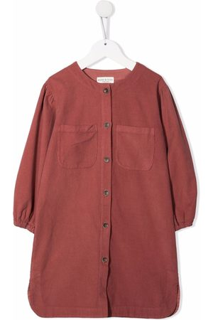 Babe And Tess Girls Casual Dresses - Button-down shirt dress