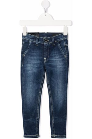 Dondup Boys Straight - Faded-effect straight-leg jeans