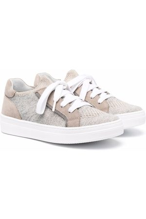 Brunello Cucinelli Low-top lace-up sneakers
