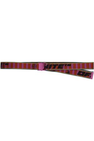 OFF-WHITE New Industrial Belt 35 And Fuchsia