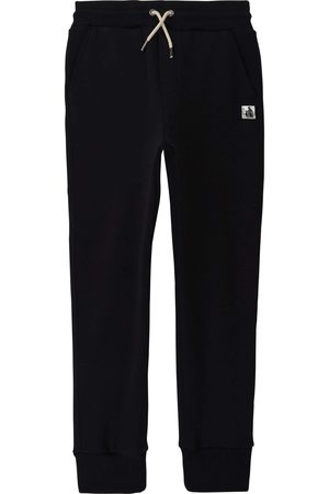 Lanvin Logo-Embroidered Cotton Track Pants - NAVY 6 MONTHS