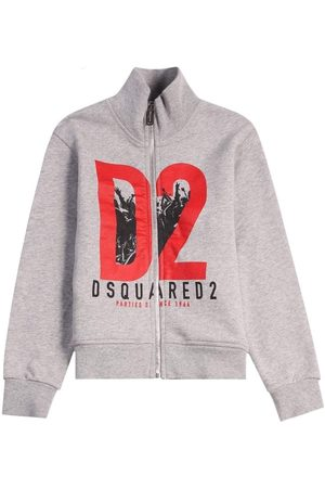 Dsquared2 Kids Zipped Turtle Neck - 8 YEARS
