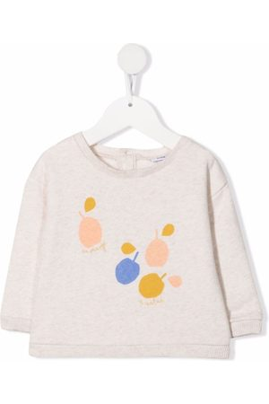 KNOT Abstract print jumper