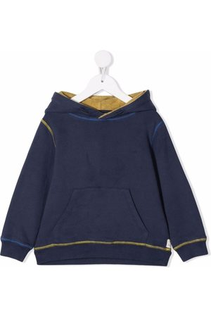 KNOT Contrast stitching hoodie