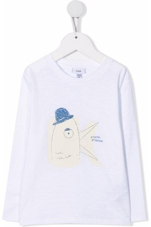 KNOT Attention print T-shirt