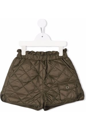DOUUOD KIDS Quilted slip-on shorts
