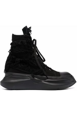 Rick Owens Abstract high-top sneakers