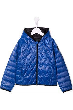 HUGO BOSS Quilted-finish puffer jacket