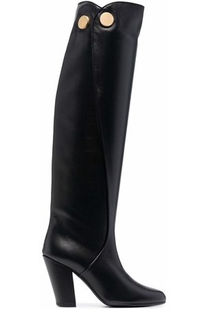 PORTS 1961 Button-embossed knee-high boots