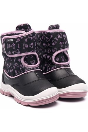 Geox Flanfil printed snow boots
