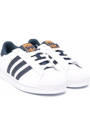 adidas Superstar lace-up sneakers