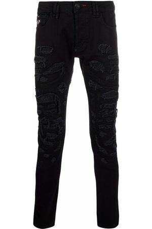 Philipp Plein New Skinny Fit destroyed jeans