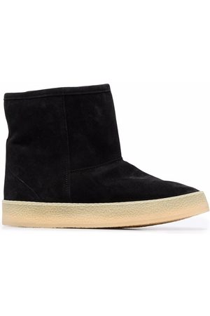 Isabel Marant Shearling-lined ankle boots