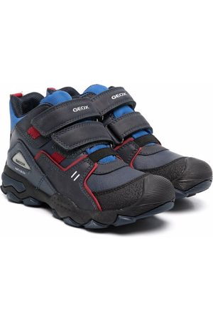 Geox J Buller touch-strap trainers