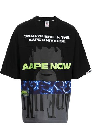 AAPE BY A BATHING APE All-over graphic print T-shirt