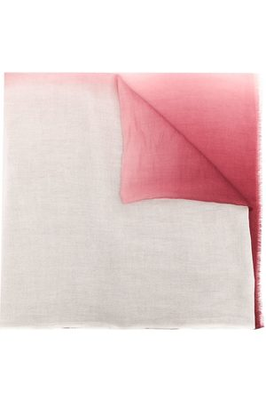 N.PEAL Gradient-effect cashmere scarf