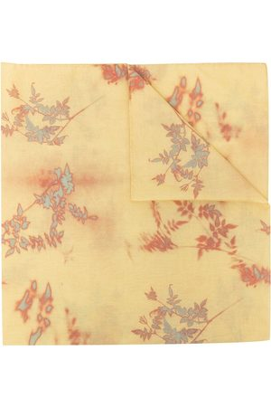 Paul Smith Floral-pattern lightweight scarf