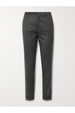 Paul Smith Men Formal Pants - Slim-Fit Wool and Cashmere-Blend Trousers