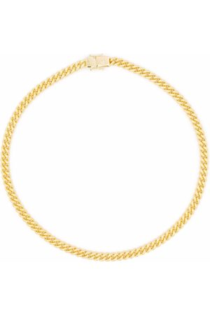 TOM WOOD Curb chain necklace