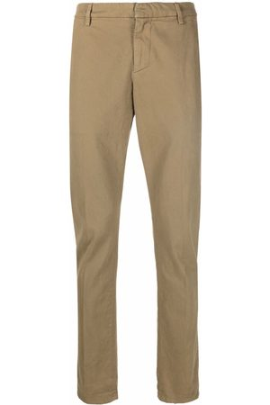 Dondup Jetted-pocket cotton chinos