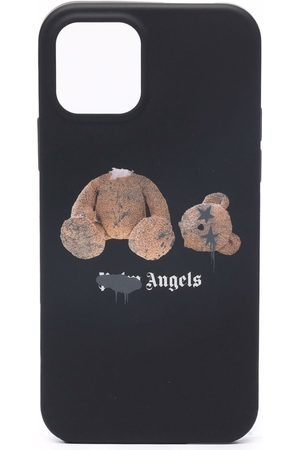 Palm Angels Phone Cases - IPhone 12 Pro teddy-bear print case