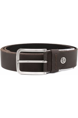 Timberland Buckle-fastening leather belt