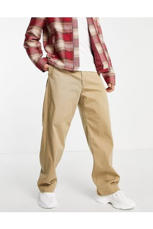 Levi's Men Chinos - Levi's Skateboarding loose fit chino trousers in harvest gold beige