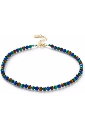 The Alkemistry 18kt yellow multi-stone anklet