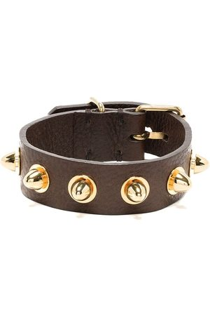 UNDERCOVER Bracelets & Bangles - Stud-detail leather cuff