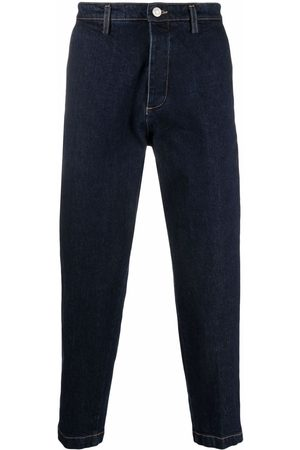 haikure Low-rise tapped jeans