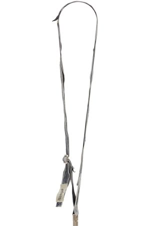 Rick Owens Lvr Exclusive Upcycled Leather Lanyard