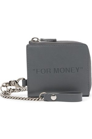OFF-WHITE For Money chain-link wallet