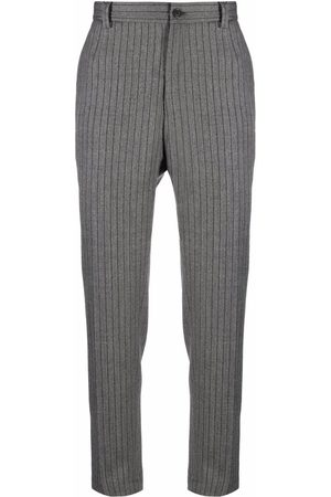 Dolce & Gabbana Men Formal Pants - Pinstriped tailored trousers