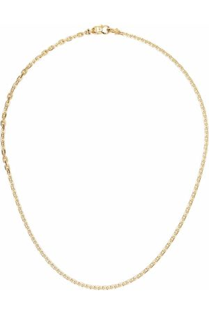 TOM WOOD Necklaces - Anker -plated sterling silver chain necklace