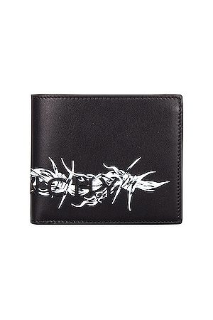 Givenchy Men Wallets - Barbed Wire Wallet in