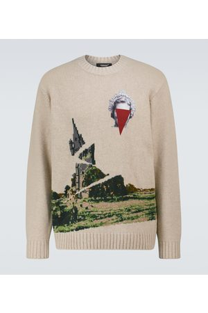 UNDERCOVER Knitted wool-blend sweater