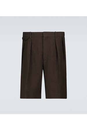 The Row Cello wool shorts