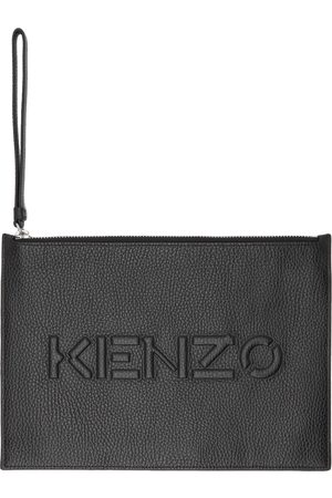 Kenzo Leather Imprint Pouch