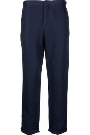 Orlebar Brown Formal Pants - Griffon linen tailored trousers