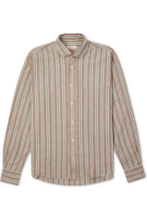 Burrows and Hare Burrows & Hare Ticking Shirt - Stripe