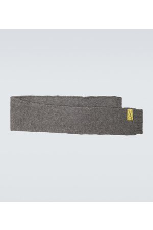 RAF SIMONS Men Scarves - Mohair and wool-blend scarf