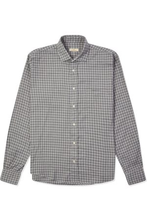 Burrows and Hare Men Tops - Burrows & Hare Gingham Shirt