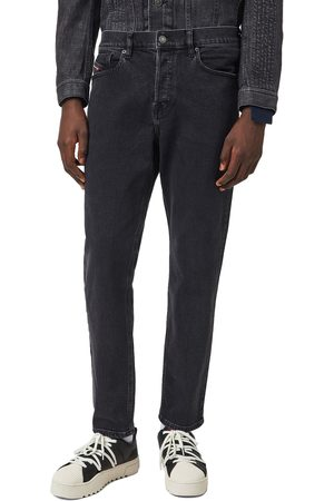 Diesel D-Fining 9A14 Tapered Jeans - Dark